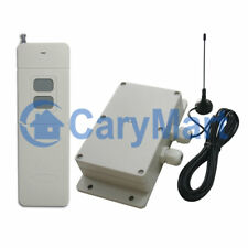 5000M Wireless Remote Control Switch Waterproof Two Relay Output High Power