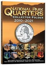 NATIONAL PARK QUARTER COLLECTOR FOLDER FOR QUARTERS 2010-2021