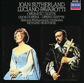 Joan Sutherland and Luciano Pavarotti sing Operatic Duets (CD, Decca)