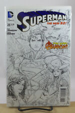 SUPERMAN #23 1:25 KENNETH ROCAFORT VARIANT COVER 1ST PRINT NM DC COMICS 2013