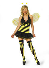 Ladies Busy Honey Bee Fancy Dress Complete Outfit Sexy Playful Cute Costume