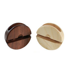 New Wooden Sound Amplifier Speaker Stand Desktop Phone Holder for Android IPhone