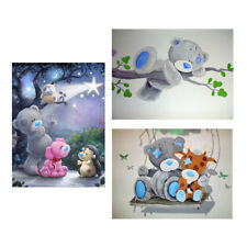 DIY Diamond Embroidery Bear Painting Cross Stitch Craft Home Art Decor Gift
