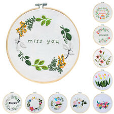Round Embroidery Hoop Ring Cross Stitch Sewing Tool Set DIY Art Handicrafts