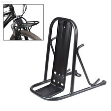 Mountain Bike Front Shelf Storage Rack Holder Fashion Accessory Metal Firm