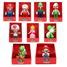Super Mario bros All characters Peach Princess toad PVC Action Figure Toy 23cm