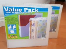 Cropper Hopper 12 x 12 Scrapbooking Paper Organizer Paper Holder with Pouches