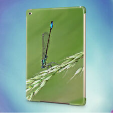 DAMSELFLY GRASS INSECT MACRO BACK HARD CASE COVER FOR APPLE IPAD