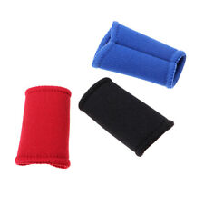 3Pcs Finger Protector Supports Stretchy Sleeves Bandage Sports Guards Band PICK