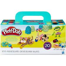 Play-Doh Modeling Compound 10-Pack Case of Colors, Non-Toxic, Assorted Colors,