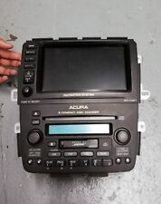 2003-2005 ACURA MDX NAVIGATION CD PLAYER DVD PLAYER GPS DISPLAY CLIMATE CONTROL