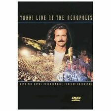 Yanni Live At The Acropolis •NEW• DVD Royal Philharmonic Concert Orchestra
