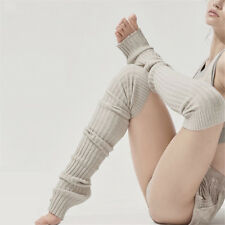 Dancer Leg Warmers Professional Dancing Long Warm Knitted Socks