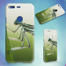 NATURE INSECT DAMSELFLY LEAF HARD BACK CASE FOR GOOGLE PIXEL PHONE