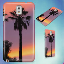 THREE PALM TREES SUNSET HARD CASE FOR SAMSUNG GALAXY PHONES