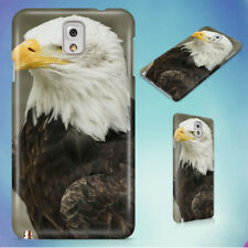 WHITE AND BROWN AMERICAN EAGLE HARD CASE FOR SAMSUNG GALAXY PHONES