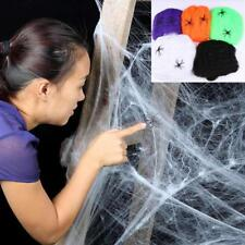 Scary Stretchy Spider Web Cobweb Party Props Horror Decoration For Halloween