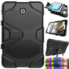 For Samsung Galaxy Tab E 9.6 SM-T560 Hybrid Kickstand Rugged Hard Case Cover