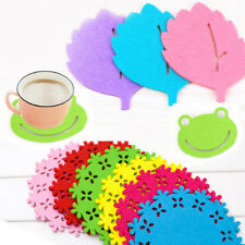 Silicone Drink Coaster Heat Insulation Tea Coffee Cup Mug Mat Pads Table Decor