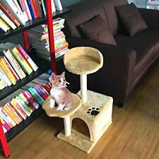 Deluxe Pet Cat Tree House Furniture Scratching Post Tower Condo Playground