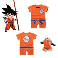 Dragon Ball Baby Costume Newborn Infant Boy Girl Clothes Romper Bodysuit Outfits