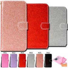 For Xiaomi Redmi Note 5A Wallet Glitter PU Leather Stand Bling Shine Case Cover