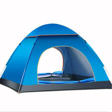 Outdoor 3-4 Persons Camping Tent Automatic Quick Open Waterproof UV Sunshade