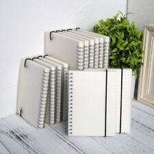 A5 A6 Spiral Book Coil Notebook Lined Grid Paper Journal Diary Sketchbook School
