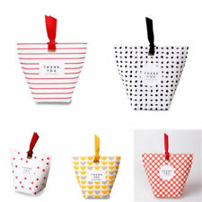 5PCS Wedding Favour Gift Sweets Party Paper Bag Empty Boxes Without Ribbons