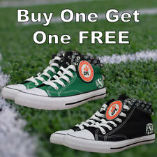 CFL Men's Saskatchewan Roughriders 2 Pairs High Tops Shoes