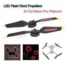 1/2 Pairs Low-Noise LED Flash Word Props For DJI Mavic Pro/Platinum DIY image