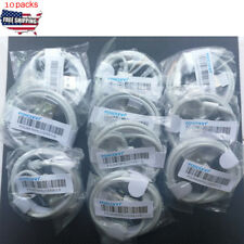 10pack Foxconn Sync Lightning to USB Charger Data for Apple iPhone X 8 7 Plus 6S