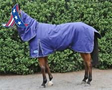 Barnsby Equestrian Waterproof Horse Winter Blanket/Turnout Rug With Neck Combo -
