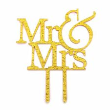 Wedding Cake Topper Romantic Engagement Mr Mrs Letters Home Party Decoration