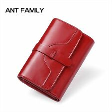 High Quality Genuine Leather Women Wallet Short Small Coin Purse Fashion Female
