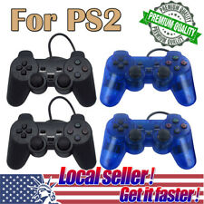 US SHIP 2Pack Twin Shock Game Controller Joypad Pad for Sony PS2 Playstation 2 o