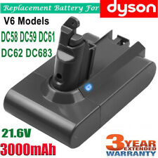 Replacement for DYSON V6 ANIMAL BATTERY DC58,DC59,DC61,DC62,DC72,DC74,V6 3.0Ah