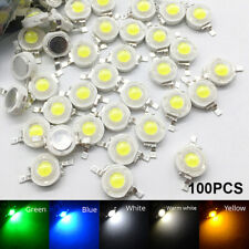 100X 3W High Power LED Bulb Diodes Lamp Beads LED COB Chip White Red Purple