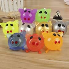 1Pc Jello Pig Cute Anti Stress Splat Water Pig Ball Vent Toy Venting Sticky 2019