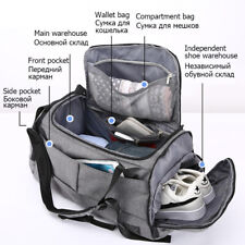 15in Gym Multifunction Unisex Fitness Bags Backpacks Hand Travel With Shoes pock