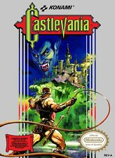 Vintage Castlevania Game Poster//NES Game Poster//Video Game Poster//Retro Game