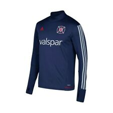 376e99a28 Chicago Fire MLS Adidas Men s Navy Blue Climacool Long Sleeve Training  Jersey