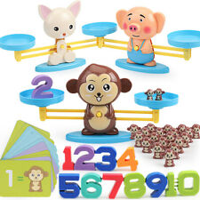Cute Cartoon Animal Balance Scale Math Game Learning Educational Baby Toy Cool