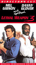 Lethal Weapon 3 (VHS, 1998, Directors Cut Widescreen)
