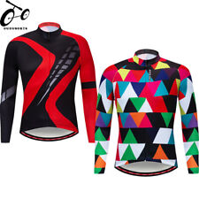 Long Sleeved Cycling Jerseys Quick dry Bike Tops Bicycle Jersey Riding Clothing