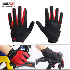 Touch Screen Full Finger Cycling Gloves Thickened Gel Pad MTB Bike Bicycle Glove