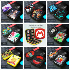 Nintendo Switch Game Card Box Case Holder Storage Travel Carry Protective Cover