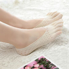 3 Pairs Womens Ankle Five Finger Toe Socks No Show Invisible Socks Hosiery LA4