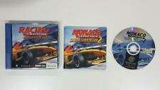 Racing Simulation Monaco Grand Prix Sega Dreamcast AC VGC PAL