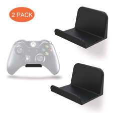 2 PACK Headphone Stand Holder Wall Mount Hanger for PS4 X-Box NS Game Controller